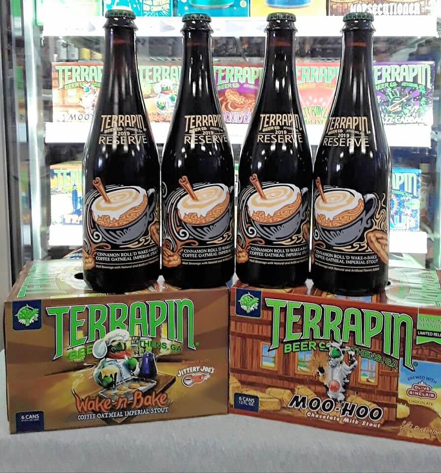 Terrapin Sessions Stout beer- limited release -craft beer -coal mountain