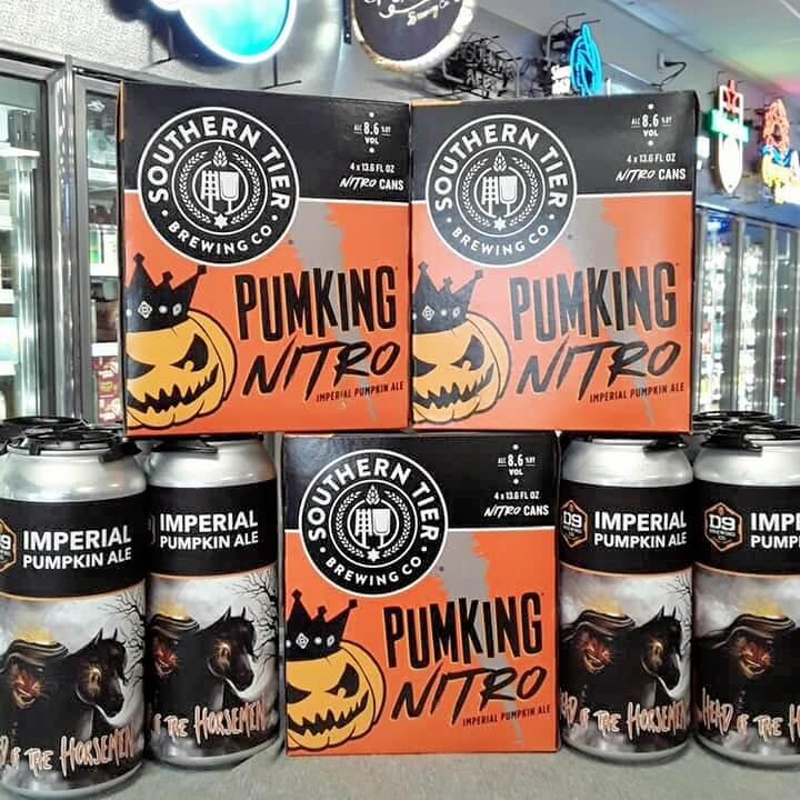 pumking nitro-limited craft beer- craft beer-coal mountain package store-beer